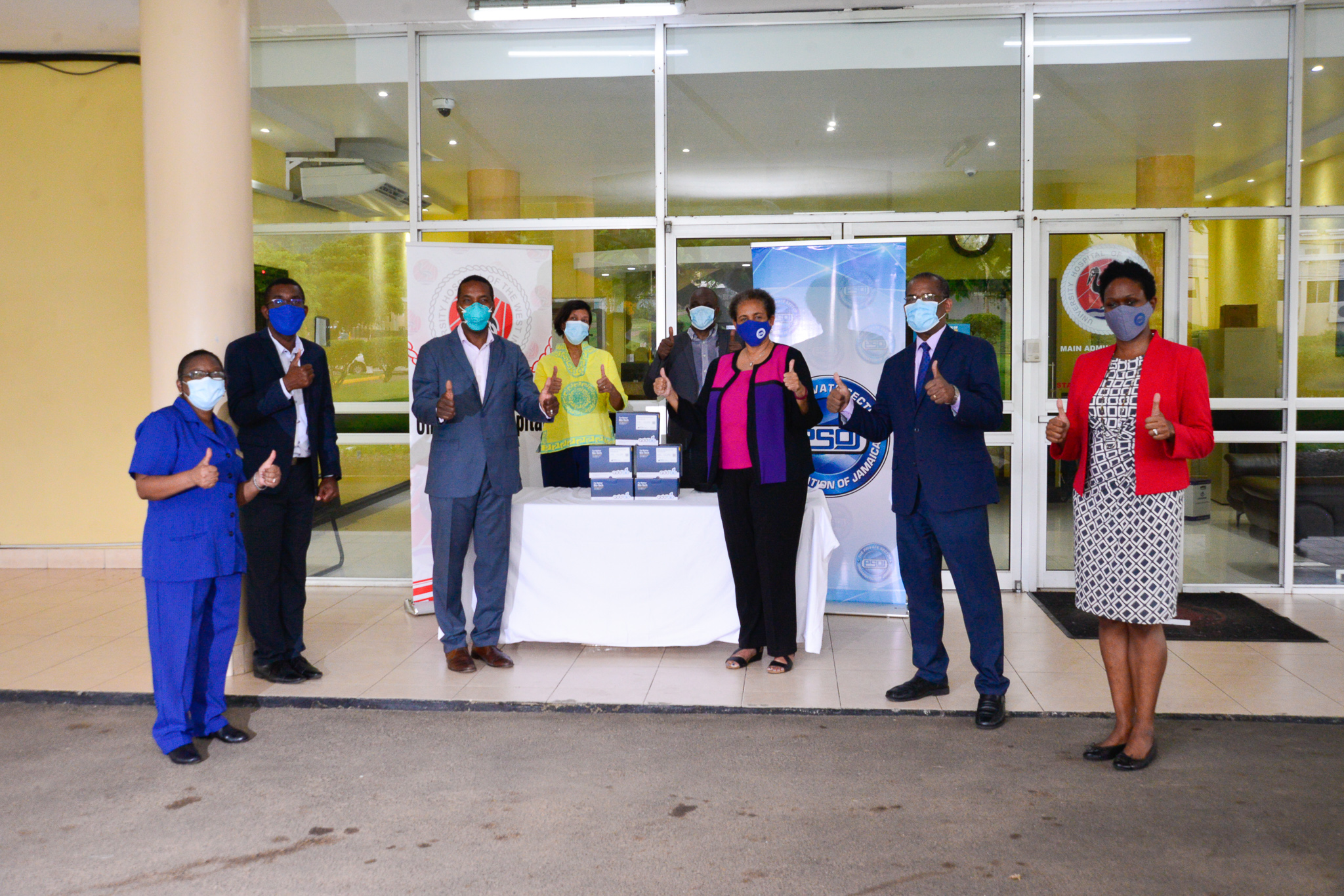 "PSOJ Donates ""Gold Standard"" PCR Test Kits to University Hospital of the West Indies"